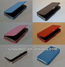 New Magnetic Luxury Wallet Flip Leather Case Cover for Apple iPhone 4 4S