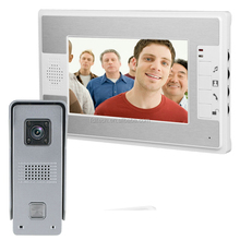 nice talking quality hight definition camera China best color intercom video door phone
