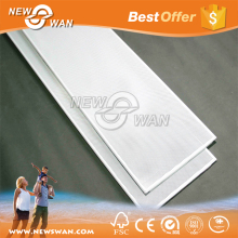 Metal frame suspended strip ceiling / pressed metal ceiling
