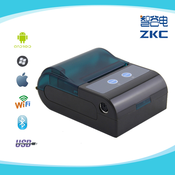 Bleutooth Industrial Mobile Label <strong>Printer</strong> ZKC5804