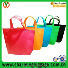 thick custom printed non woven shopping bag, non woven tote bag, non woven shoulder bag