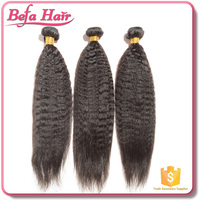 Befa Hair accept paypal brazilian hair weave bundles kinky straight hair