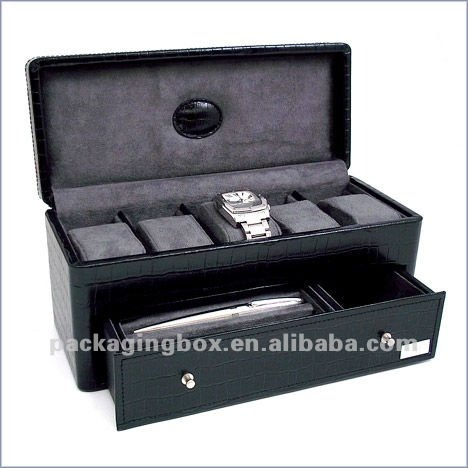 jewelry and watch boxes
