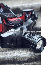telescopic zoom head lamp/ outdoor lighting/LED head light