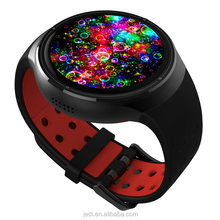 Round screen 3g smartwach phone waterproof z10 smart watch with heart rate_MO4372