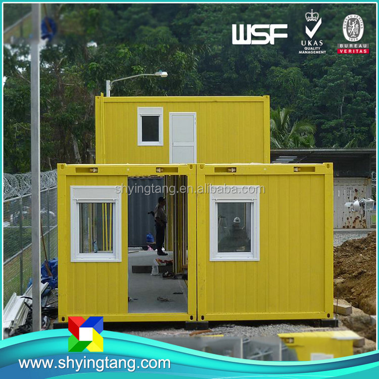 Factory supply 40 ft 20ft sandwich panel flatpack office container/ office container price