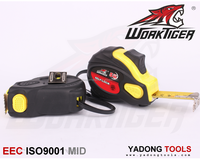 yellow abs case ,best selling auto-lock steel measuring tape