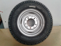 Heavy duty big truck wheel 5.00-12 Tube and Tire