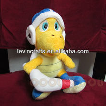 "LE h1530 super mario 9"" boomerang bro brother koopa troopa plush doll"