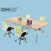 2.8 Meter Modern Design Modular Office Furniture Desk Long Meeting Table