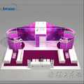 6x6m island trade show booth design and custom production with more chatting room and storage room