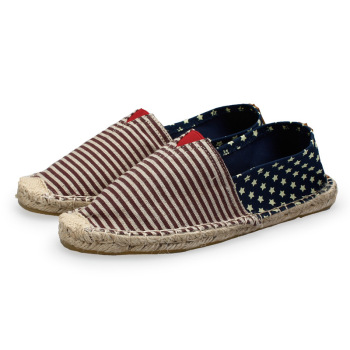 New Fashion Outsole Canvas Flat Mens Espadrilles