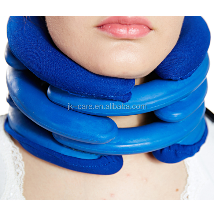 2015 Most Popular fashion air pump neck support inflatable neck collar