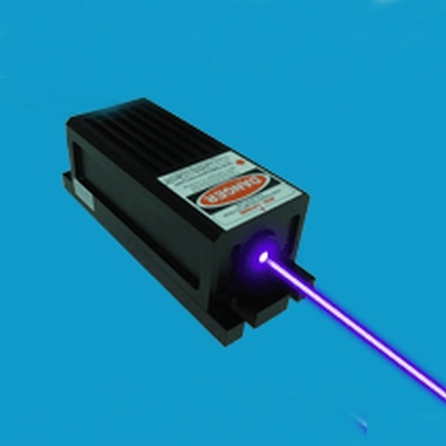 Quasi TE00 405nm 300mw blue purple laser with digital and adjustable power supply