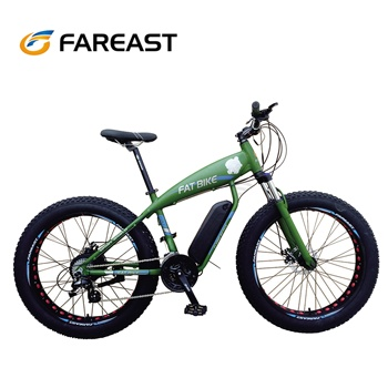 Elettrico fat tire bike full suspension bicicletta per la vendita