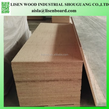 1180x2090x33mm/38mm hollow core particle board, tubular chipboard