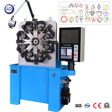 CNC spring forming/wire bending/paper clip making machine