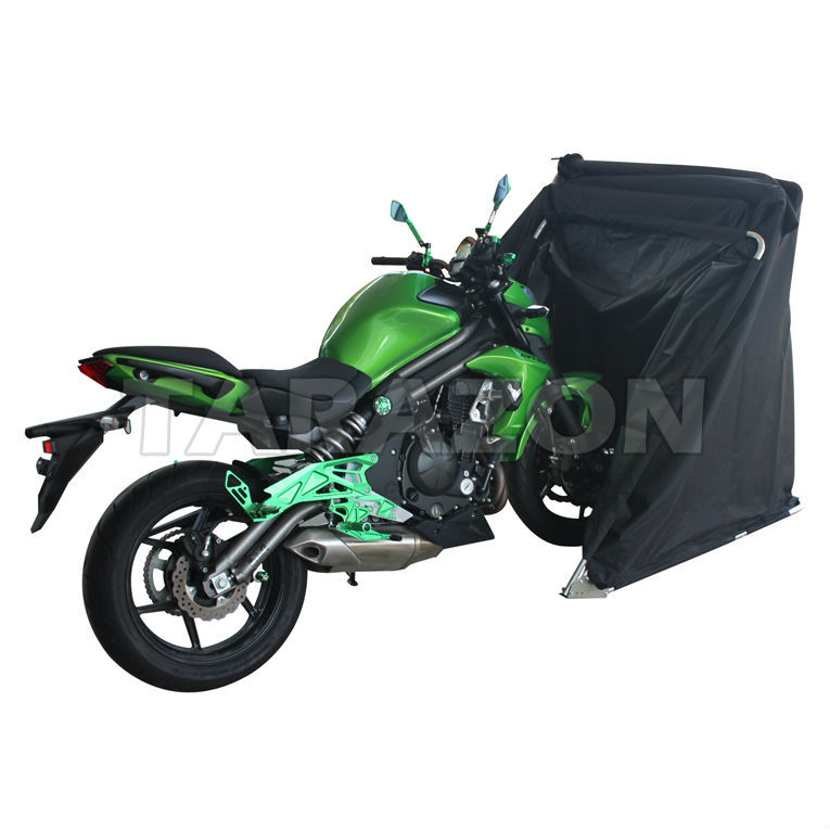 China wholesale folding motorcycle garage waterproof storage tent cover buy motorcycle garage - Motorcycle foldable garage tent cover ...