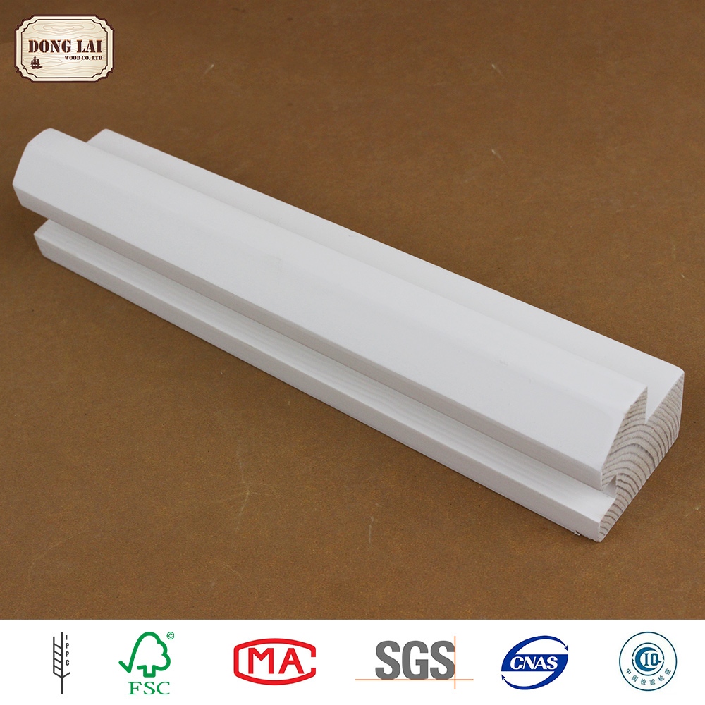 High Quality Pine white gesso primed finger Joint Board Use For Furniture Plate Material