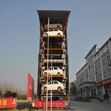 Automatic smart rotary car parking system