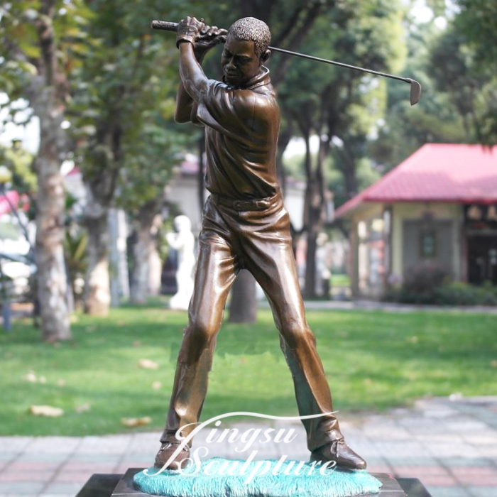 Directly Factory resin golf statue