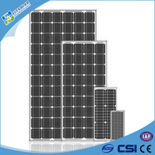 250W Monocrystalline Silicon sunpower solar panel suit for solar street light
