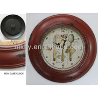 wooden wall clock for dinning room&Wholesale wooden gear wall clocks