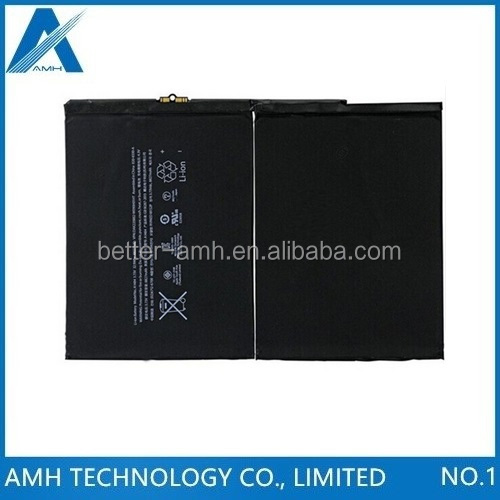 Tested new 3.73v 8827mAh battery A1474 1475 A1484 for Apple Ipad 5 air tablet battery