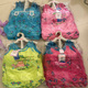 Stocks Children girls tank top and matching print short pants boutique kids clothing set with hanger