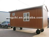 MOVING container house with wheels/container homes/office container