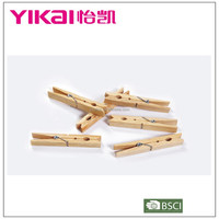 Top sale set of 24pcs pine wooden clothes pegs proofing insects