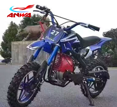 49cc Mini Dirt Bike 2 Strokes Mini Cross Bike 49cc Gas Powered Mini Kids Pitbike