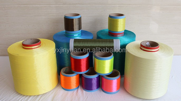high quality fluorescent polyester yarn