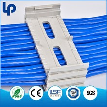Lepin low price Telecom Network ABS cable locking clips , electrical wire clamp
