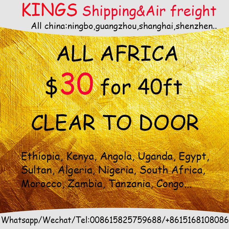 Door to door delivery service train shipping freight agent from china to Africa Accra Ghana Aseb Addis ababa Ethiopia