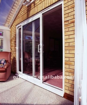 Eurpean Style UPVC sliding Door with laminated glass