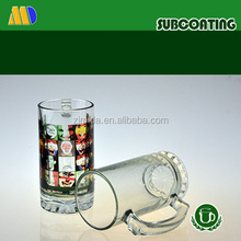 14oz Sublimation Glass Beer Mug with Hot Sale Design & Cheap Price & High Quality for Party Gifts