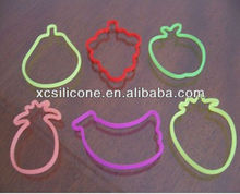 New design pratical personalized metallic rubber band