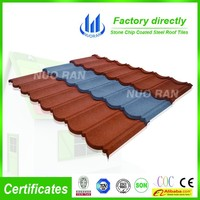Decorative Stone Coated Metal Villa Roof Tile/Building Material