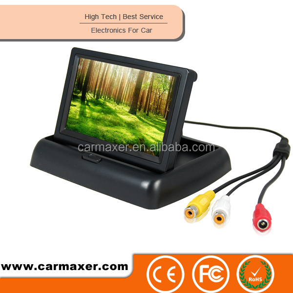 4.3 inch LCD monitor in car/bus