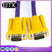 wholesale 3m 15 Pin SVGA VGA Monitor Male To Male Cable Cord for PC TV