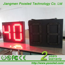 timer countdown signage board \ traffic light countdown timer \ waterproof countdown timer