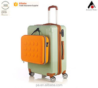light weight ABS+PC 3pcs travel trolley suitcase luggage set