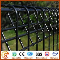 China factory steel fence rolltop fence systerm BRC wire mesh size BRC fence