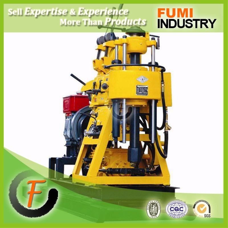 Easy Operation Drilling Rig 200m Deep High Efficiency Hydraulic Portable Rig Used Water Well Drilling Machine for Sale