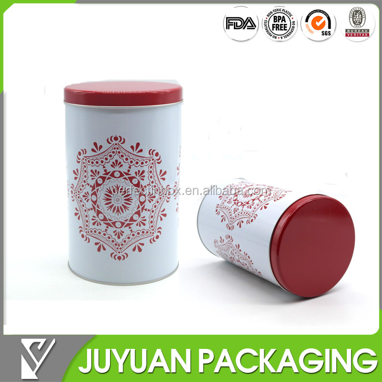 Top grade custom printed popcorn large metal tin bucket/wholesale tin cans