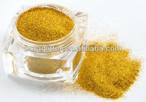 Dazzing and bright solvent and heat resistant acrylic glitter powder