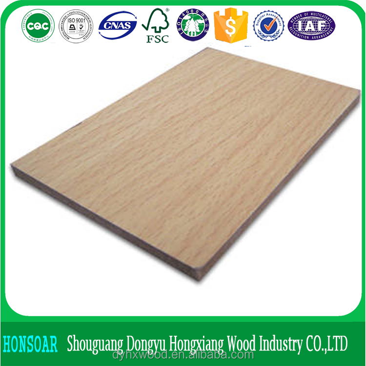 Factory high quality 4x8 melamine laminated mdf board, melamine mdf manufacture medium density fiberboard low price mdf