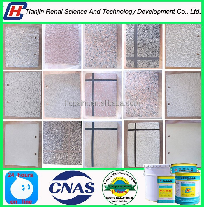 Factory price coloured textured wall stone paint- stone like coating
