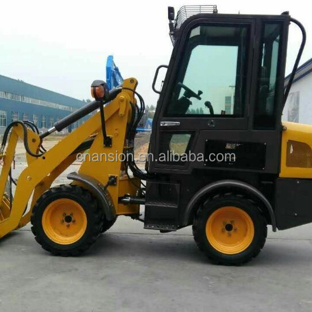 800kg mini shovel loader ZL08F with EATON motor and hydraulic driving axles